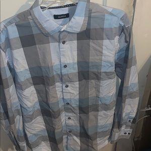 Alfani dress shirt size L